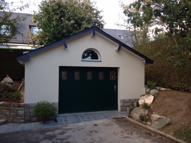 Construction de garage